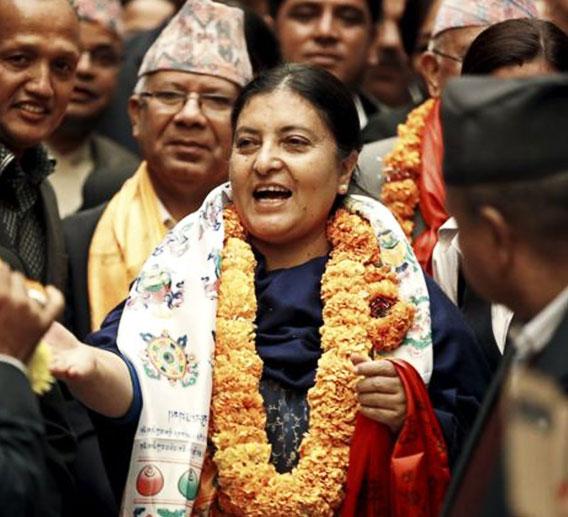 nepal-preseident-bhandari